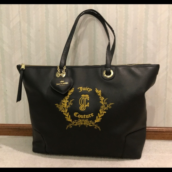JUICY COUTURE Diaper Bag or Daily Tote 7fd2e93619235
